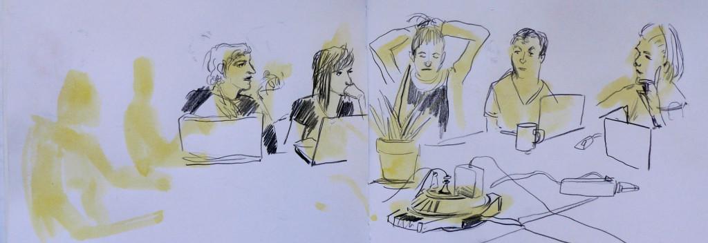 Dibujo Asamblea