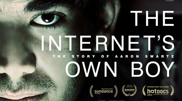 "Proyección the ""The Internet's Own Boy: The Story of Aaron Swartz"" en WikiToki"