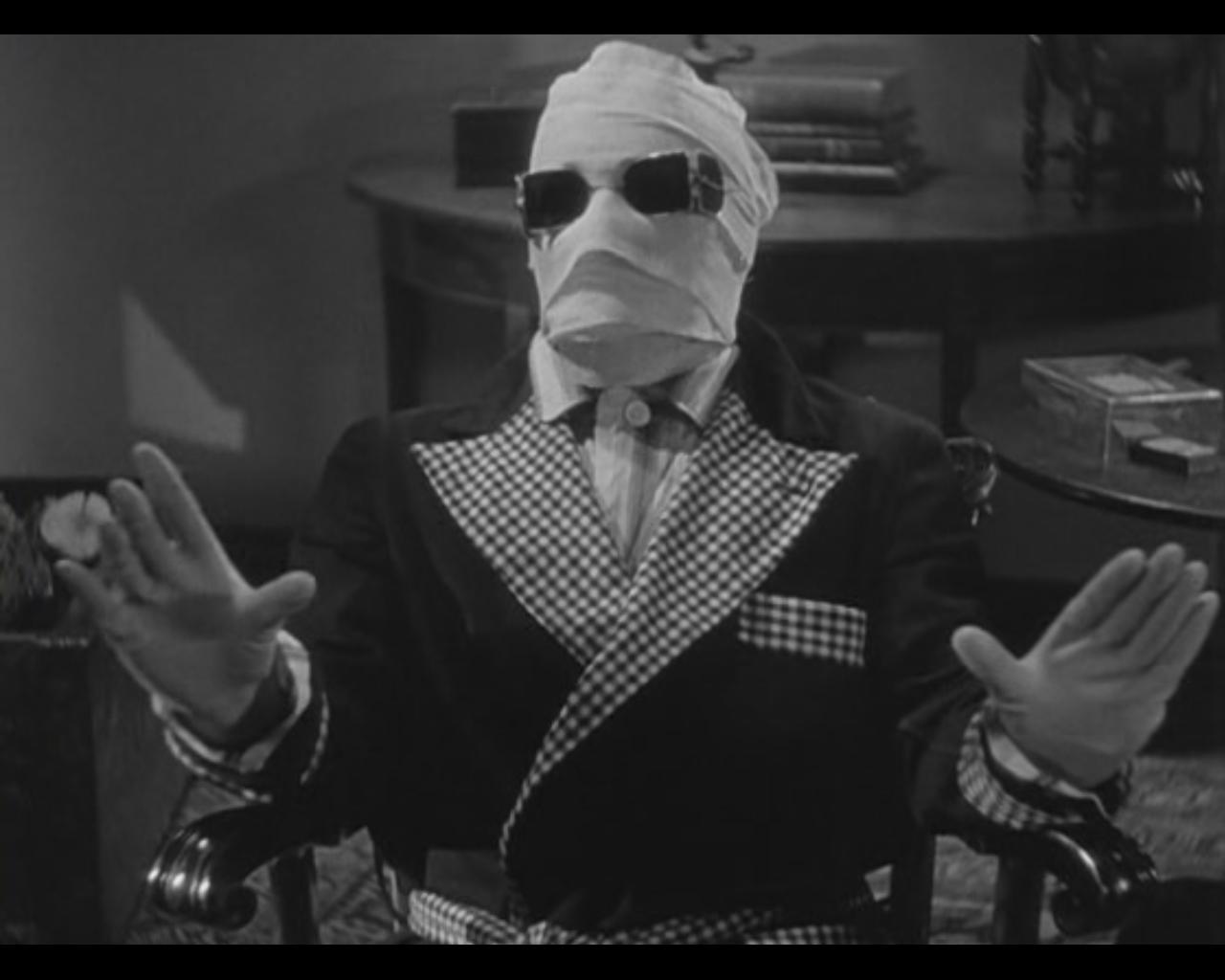 Proyección. El hombre invisible. James Whale