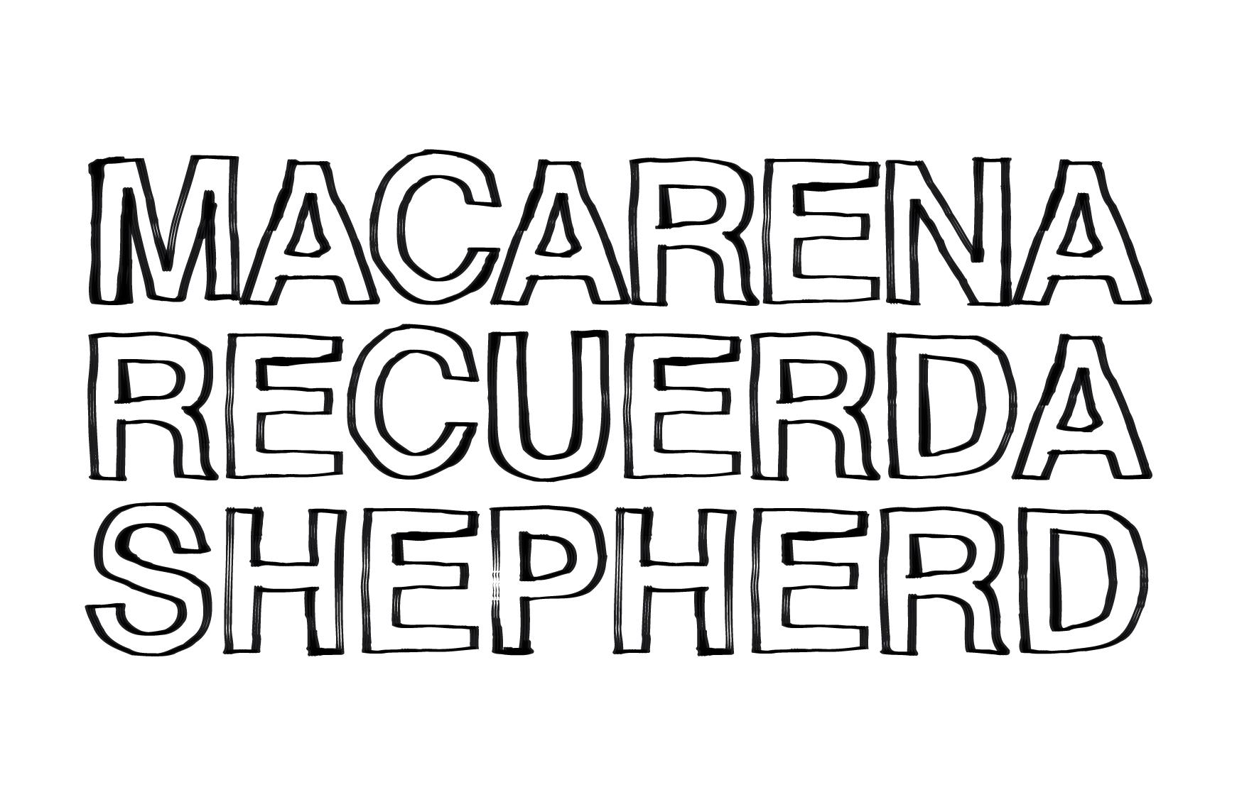 Macarena Recuerda Shepherd