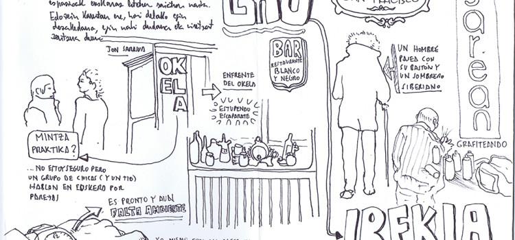 dibujatolrato relatogramando #GauIrekia 2015