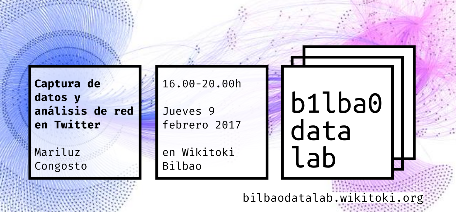 Captura de datos y análisis de red en Twitter