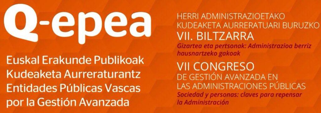 VII Congreso de Gestión Avanzada en las Administraciones Públicas – Q-epea