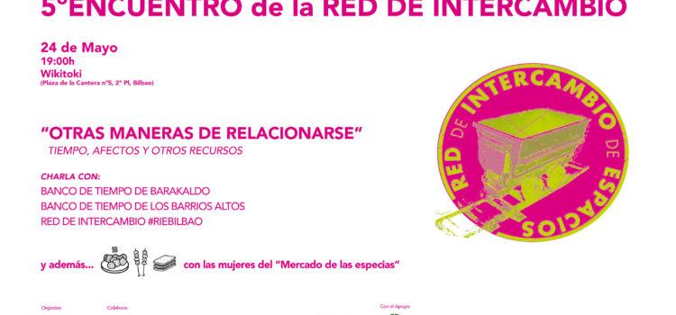 24 de Mayo (jueves) – 19horas – V Encuentro de la RED DE INTERCAMBIO en Wikitoki
