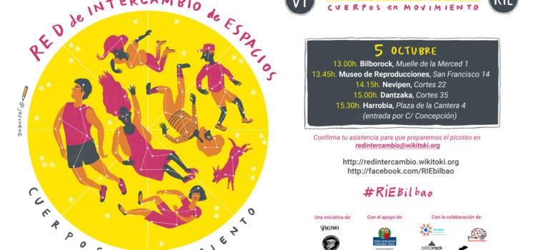 5 de octubre (viernes) – VI Encuentro de la Red de Intercambio: Cuerpos en movimiento