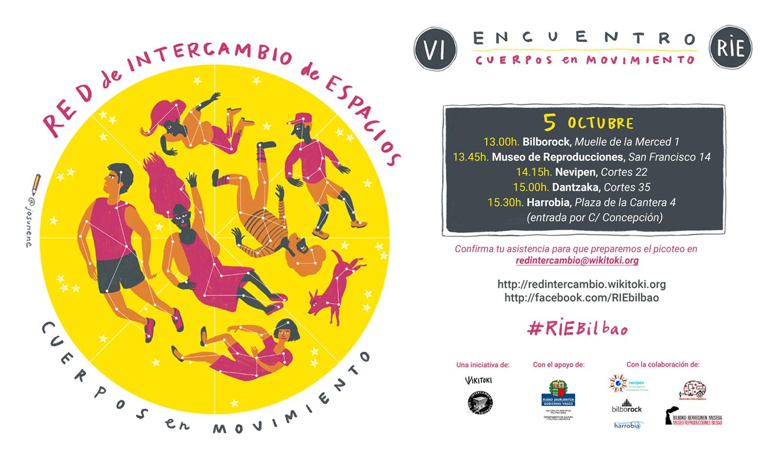 VI Encuentro de la Red de Intercambio: Cuerpos en movimiento