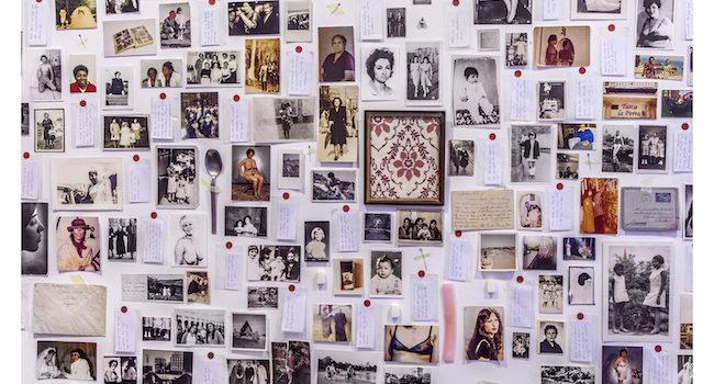 Un álbum desplegado sobre la memoria de las mujeres de Barrios Altos
