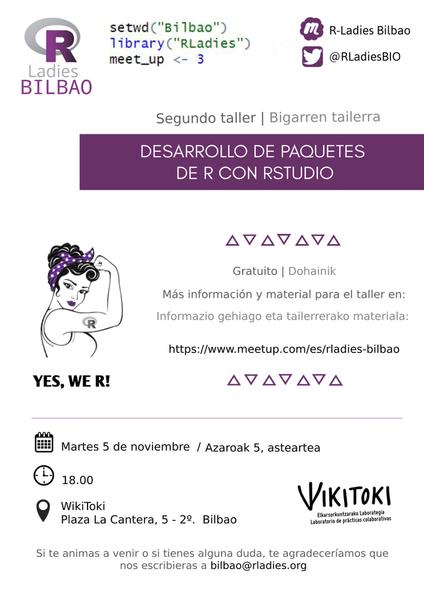 R-Ladies Bilbao taller2 Wikitoki